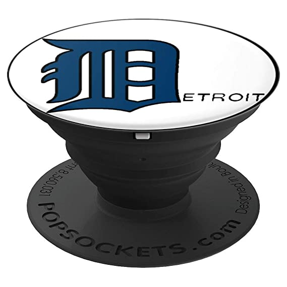 amazon com old english d detroit popsockets grip and stand for