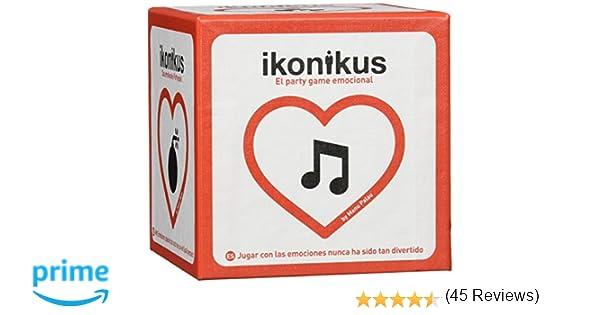 Brain Picnic- Ikonicus Ikonikus 4ª edición, Color Rojo y Blanco (IKON004)