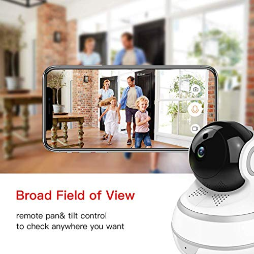 ️ Yu2d ❤️❤️ ️HD 1080P WiFi Security IP Camera Wireless 2-Ways Audio CCTV Camera Baby Monitor -