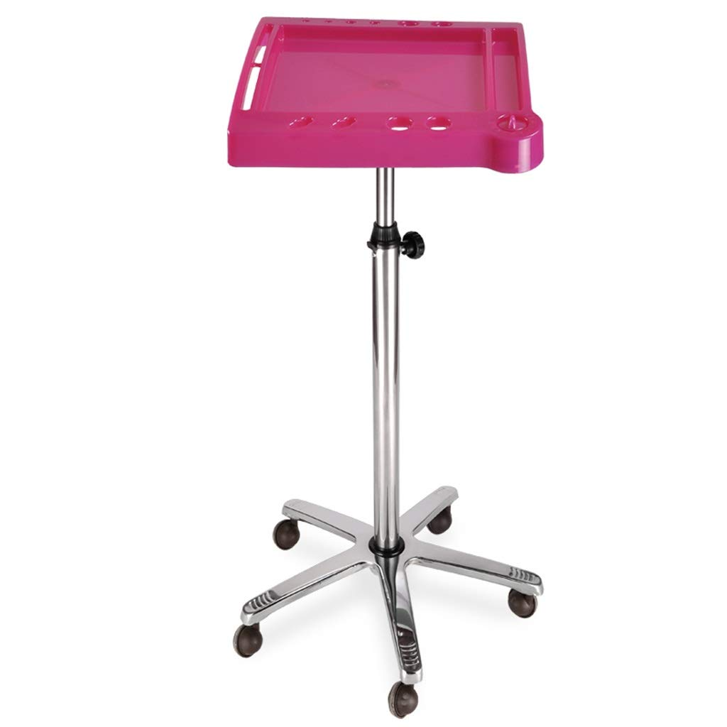 B 4646(72107) cm JU FU Cart Storage Rack Tool Cart - Beauty Salon Supplies Dyeing Dish Rack Shelf Hair Dye Holder Dye Bracket Beauty Salon Trolley Tool Cart @@ (color   B, Size   46  46(72107) cm)