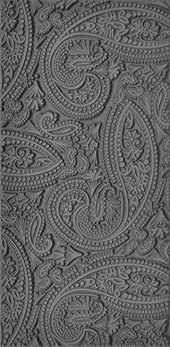 Flexible Texture Tile 4 X 2 Mehndi Paisley Cool Tools