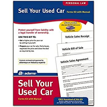 AmazonCom  Adams Bill Of Sale Forms And Instructions Lf