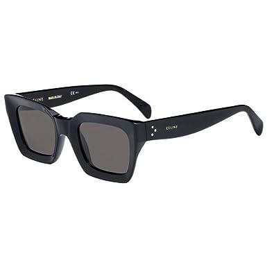 c5b97e92158f Celine CL41450 S 807 Black Kate Square Sunglasses Lens Category 3 Size  50mm  Amazon.co.uk  Clothing