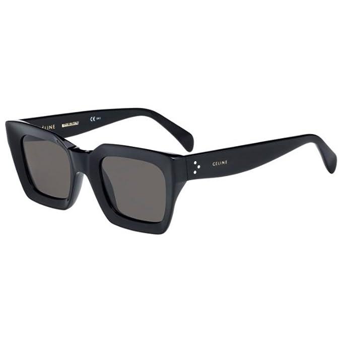 06711e3b2fe Celine CL41450 S 807 Black Kate Square Sunglasses Lens Category 3 Size 50mm   Amazon.ca  Clothing   Accessories