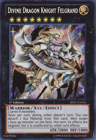 ragon Knight Felgrand (SHSP-EN056) - Shadow Specters - 1st Edition - Ghost Rare ()
