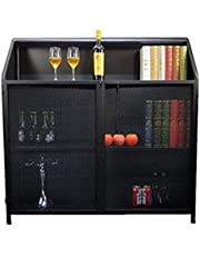Kitchen Storage Sideboard,Sideboard for Living Roo Buffet Server Cabinet Hallway Console Side Cabinet 2 Shelves Door Storage Unit Balcony Sideboard Bookcase Multi-Layer Lockers Storage Cupboard for Di