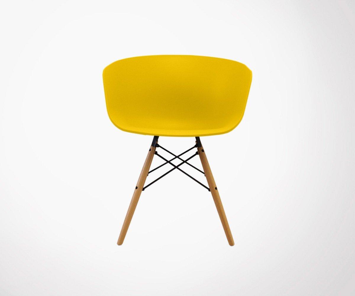 6 sillones estilo nórdico Ray - Color - mostaza: Amazon.es ...
