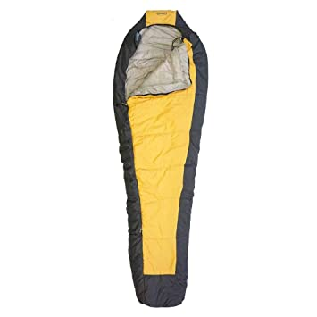 Setmil - Saco de dormir COMPACT oro - Saco de dormir alpino mummy Unisex Adulto.
