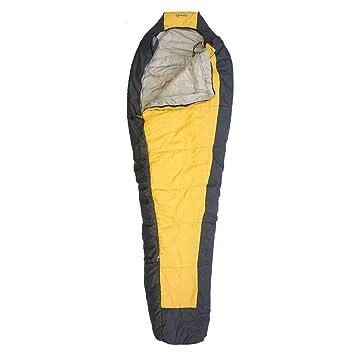 Setmil - Saco de dormir COMPACT oro - Saco de dormir alpino mummy Unisex Adulto. Saco tipo momia con bolsa de compresión.: Amazon.es: Deportes y aire libre