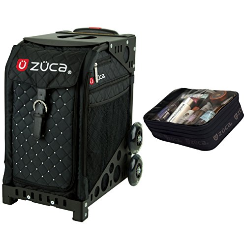 Zuca Mystic Sport Insert Bag & Black Frame + Gift Utility Pouch by ZUCA