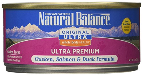 Natural Balance Ultra Chicken, Salmon, and Duck Formula Cann
