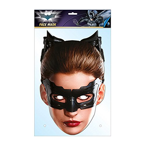 Catwoman Ears And Mask (Catwoman Card Face Mask)