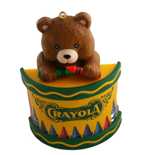 Ornament Crayola - Binney & Smith Crayola Bear Ornament 1992