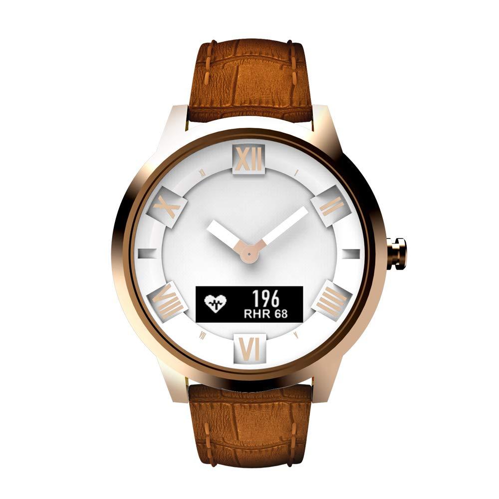 Docooler Compatible Smart Watch Lenovo Watch X Plus Roman Dial Air Pressure Temperature Sensor Waterproof Luminous Pointer Smart Fitness Tracker Sleep Monitoring Intelligent Pedometer Calls Reminding