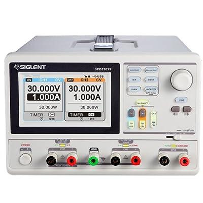 Siglent SPD-3303S DC Power Supply TFT-LCD Display 480x272 High Resolution