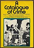 A Catalogue of Crime, Jacques Barzun and Wendell H. Taylor, 0060102632