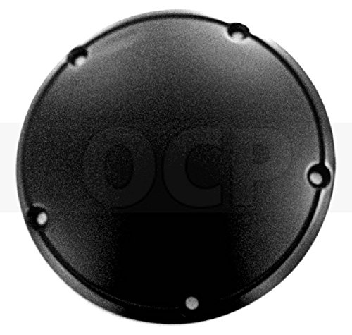Derby Cover Black Domed for Harley 1999-2014 Twin Cam 1107-0363
