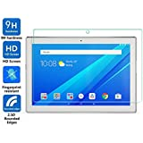 """Luffytops Lenovo Tab 4 10 Screen Protector, [High Definition] [Scratch Resistant] Ultra Clear 9H Hardness Tempered Glass Film for Lenovo Tab4 10 (TB-X304F,N) 10,1"""" - 1 Pack"""