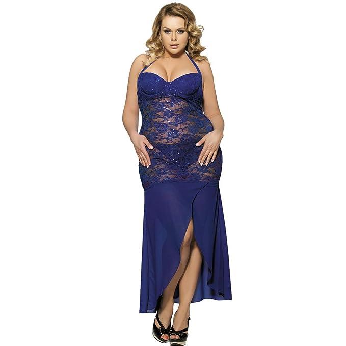 1d81f6a658a5 COOLGIRL Lenceria Sexy Mujer Conjunto, Sexshop Vestido Largo De ...