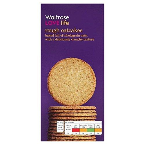 Rough Oatcakes Waitrose Love Life 250g (Pack of 6)
