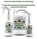 Engine & Vehicle Rodent Defense Repellent Spray by Natural Armor - For Mice/Mouse, Squirrels, Rats. Prevents Wire Chewing and Nesting. Provides Protection From Damage By Small Animals (Quart)