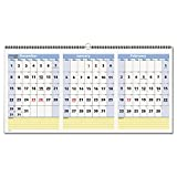 AT-A-GLANCE Wall Calendar 2017, QuickNotes, 3 Month View, 15 Months, 23-1/2 x 12'', Horizontal (PM15-28)