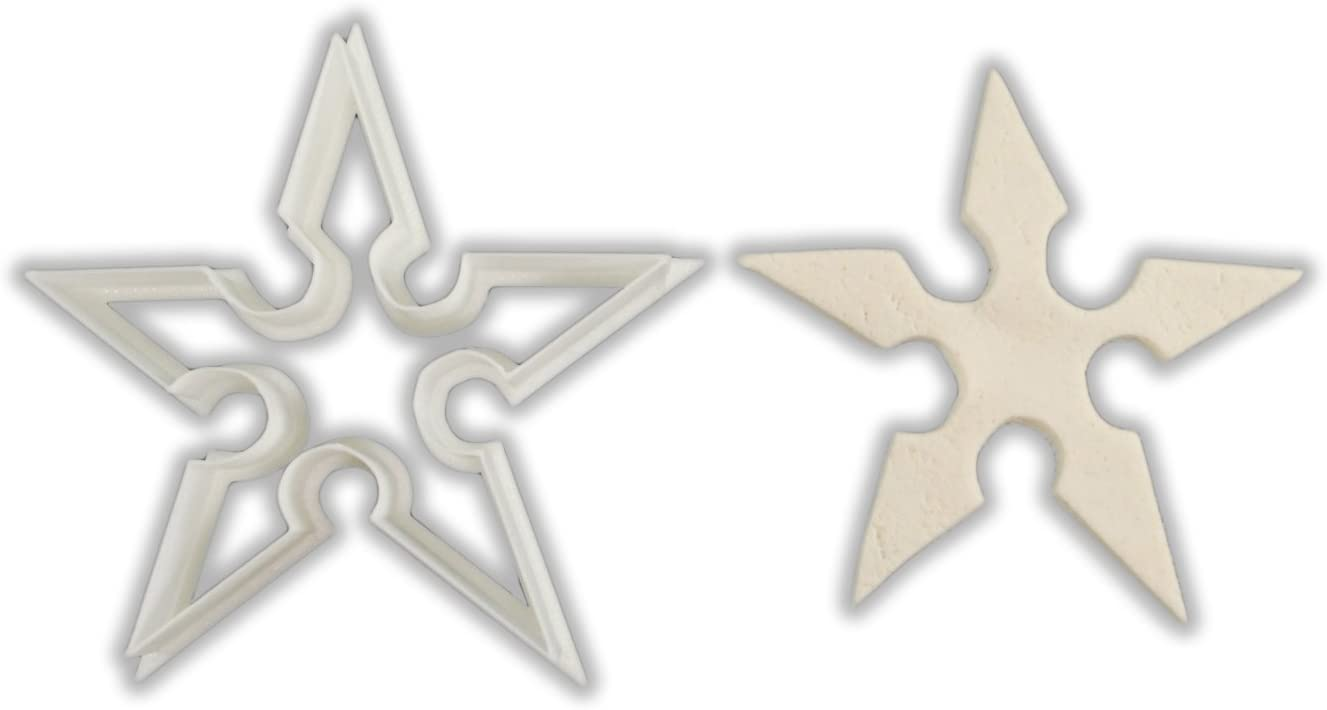 Amazon.com: Ninja Star – Shuriken cortador de galletas ...