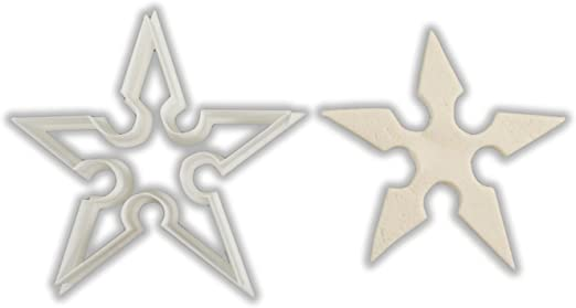 Ninja Star Shuriken Cookie Cutter - LARGE - 4 Inches