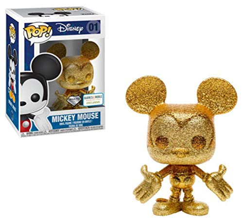 - Funko Pop! Disney Mickey Mouse #01 Gold Diamond Collection (Barnes & Noble Exclusive)
