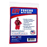 3d rain - ER Emergency Ready 3D Rain Poncho with Hood