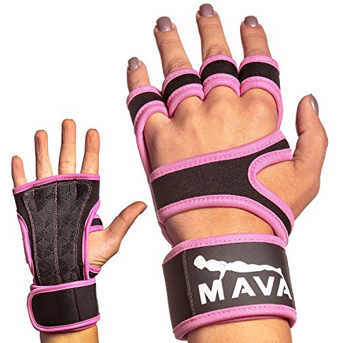 Women S Fitness Gloves With Wrist Support: Mava Workout Gloves With Wrist Support For Workouts, Cross