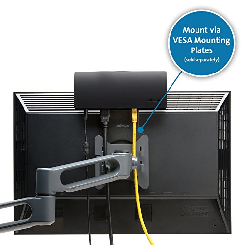 """Kensington SD4600P USB-C Docking Station with Power Delivery Charging for 2015/2016 MacBook Retina 12"""", Chromebook Pixel, Dell XPS 13"""" 9350/XPS 15"""" 9550, Dell Precision 5510 (K38231WW) by Kensington (Image #4)"""