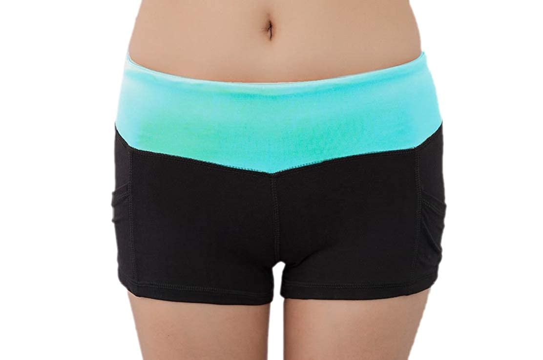 GenericWomen Stretchy Waist Soft and Comfy Activewear Lounge Shorts