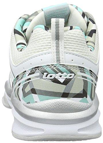 Running LTH Femme W AMF Tah Andromeda Blanc Chaussures Lotto VIII de Wht Blu 0cwqEw7Ox