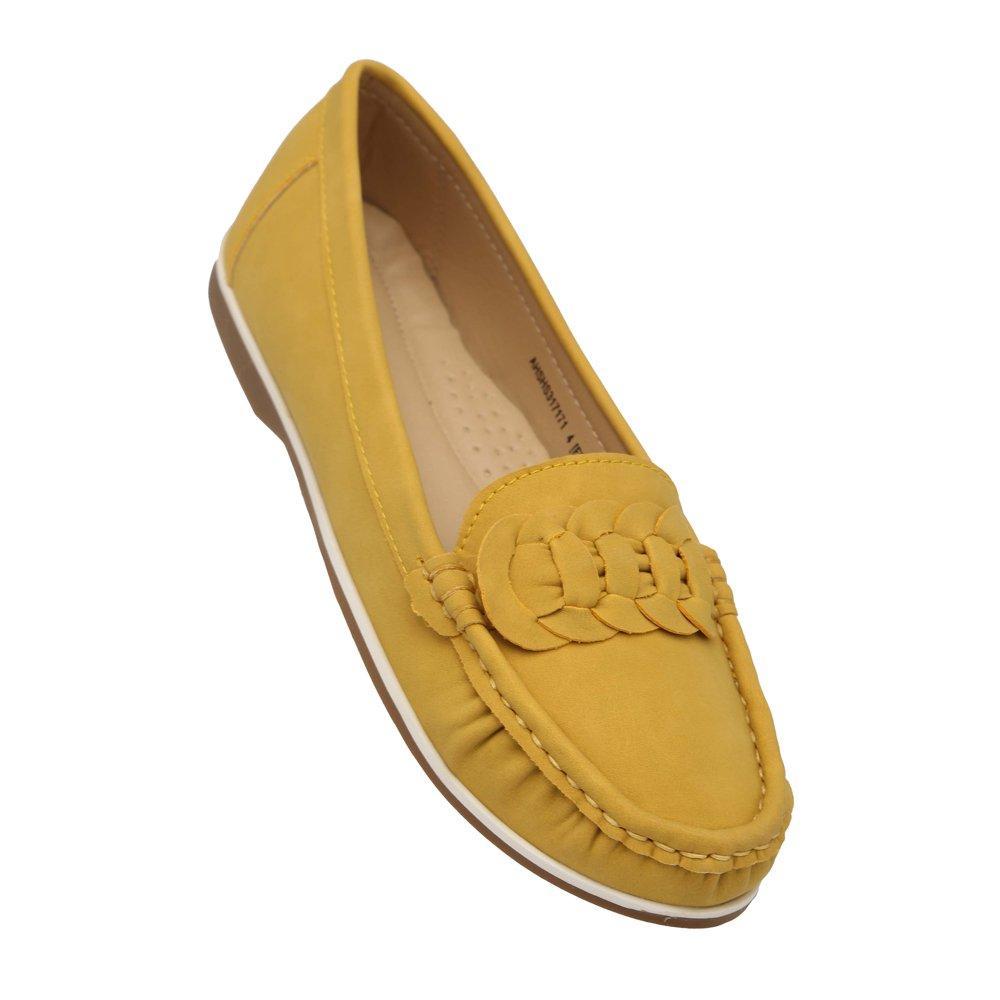 Buy Allen Solly Women's Mustard Loafers