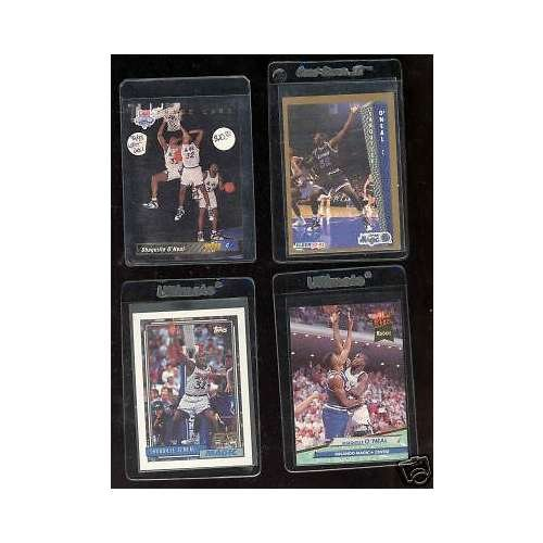 1992 Upper Deck Rookie Card - 4 1992-93 Shaquille O'Neal Upper Deck Ultra Topps Fleer Rookie Card Collection RC