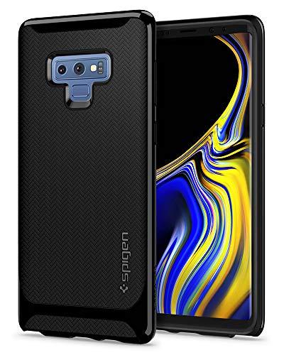 (Spigen Neo Hybrid Designed for Galaxy Note 9 Case (2018) - Midnight Black)