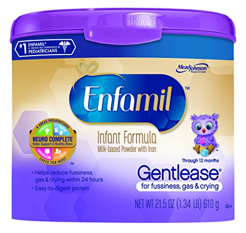 Enfamil  Gentlease Baby Formula - 21.5 oz Powder in Reusable Tub