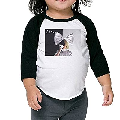 T-USA Baby Boys/Girls Sia 3/4 Sleeve Raglan Jersey Baseball T Shirts