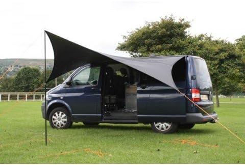 Kiravans RHD UK- Toldo tipo vela, para proteger de la lluvia ...