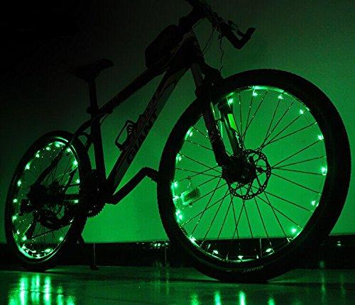 Soondar¨ 20-LED Waterproof Bike Wheel Lights Bicycle Spoke Lights