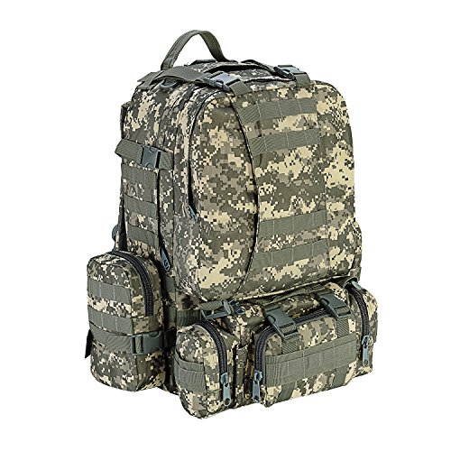 6dc682ff0c CVLIFE Outdoor 60L Built-up Military Tactical Backpack Army Rucksacks 3 Day  Assault Pack Combat