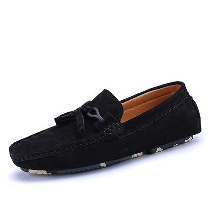 Zapatos Shufang, 2018 para Hombre, con flotadores, Ligeros, cómodos, con borlas