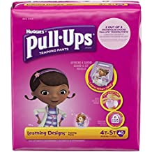 Huggies Pull-Ups Learning Designs Training Pants - Girls - 4T-5T - 40 ct