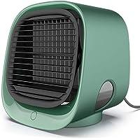 FABSELLER Mini Luchtkoeler Draagbare Airconditioner Draagbare Koeler Ventilator USB Persoonlijke Ruimte Luchtkoeler voor…