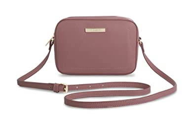 823d6825560 Image Unavailable. Image not available for. Color: Katie Loxton - Loulou  Cross Body Bag - Blush Berry Pink