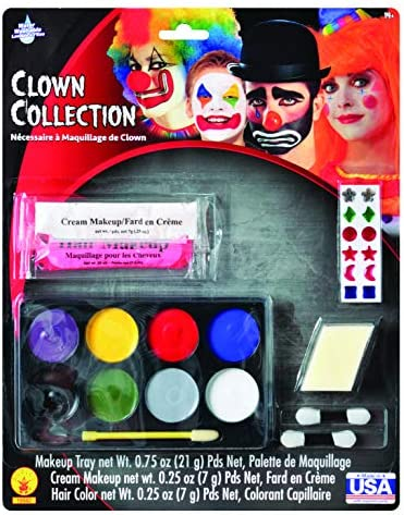 Rubie s Costume Complete Clown Makeup Kit