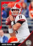 Aaron Murray Football Card (Georgia Bulldogs) 2014 Upper Deck Conference Greats Silver #40