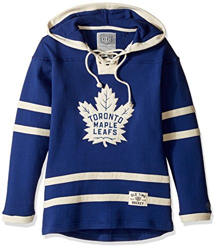 Toronto Maple Leafs Women's Heavyweight Hoodie, Medium, Dark Royal ()