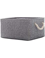 Storage Basket, Fabric Foldable Storage Box for Nursery and Kids Room, Storage Bin for Toys or Clothes